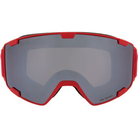 Red Bull SPECT Park Lunettes de protection, red/silver snow